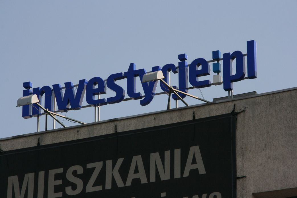 Napis 3d inwestycje.pl
