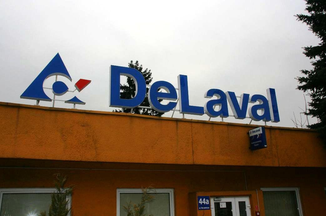 Logo i napis DeLaval