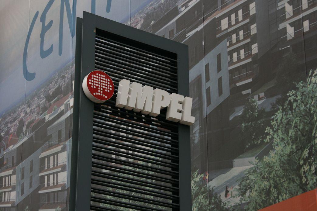 Logo i napis IMPEL